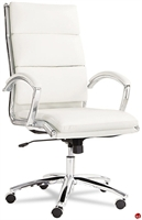 Picture of Contemporary High Back White Ofifce Conference Chair