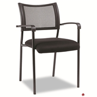 Picture of Contemporary Guest Visitor Mesh Arm Chair, Set of 2