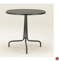 """Picture of GRID Outdoor Wrough Iron 30"""" Round Dining Table"""