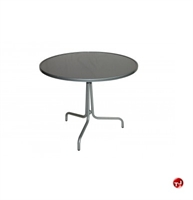 """Picture of GRID Outdoor 36"""" Round Solid Top Dining Table"""