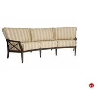 Picture of GRID Outdoor Aluminum 3 Seat Sofa with Padded Cushion