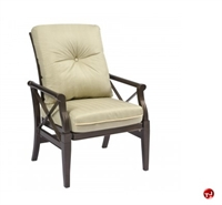 Picture of GRID Outdoor Aluminum Dining Rocking Arm Chair