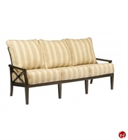 Picture of GRID Outdoor Aluminum 3 Seat Sofa with Padded Cushions