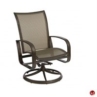 Picture of GRID Outdoor Aluminum Mesh Swivel Rocker Arm Chair