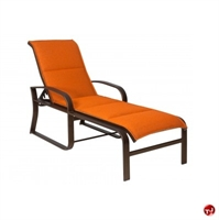 Picture of GRID Outdoor Aluminum Padded Adjustable Chaise Lounge