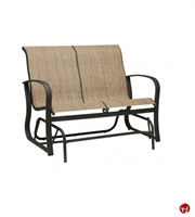 Picture of GRID Outdoor Aluminum 2 Seat Loveseat Glider