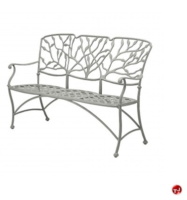 Picture of GRID Outdoor Aluminum 3 Seat Bench