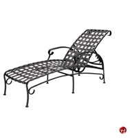 Picture of GRID Outdoor Aluminum Adjustable Lounge Strap Chaise