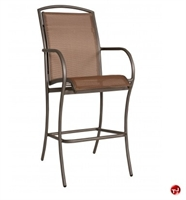 Picture of GRID Outdoor Aluminum Barstool Sling Chair