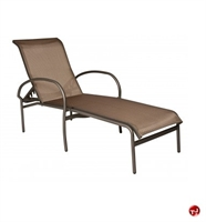 Picture of GRID Outdoor Aluminum Adjustable Chaise Lounge Sling Chair