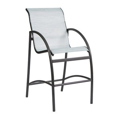 Picture of GRID Outdoor Aluminum Sling Barstool Chair