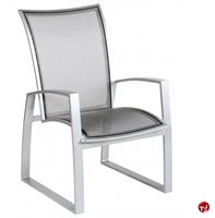 Picture of GRID Outdoor Aluminum Mesh Dining Arm Chair