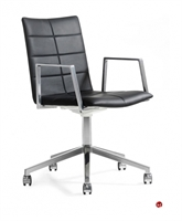 Picture of ICF Archal Aluminum Contemporary Swivel Office Conference Chair