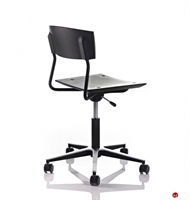 Icf Pure X Contemporary Armless Swivel Task Chair