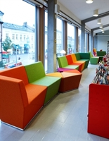 Picture of ICF Area Reception Lounge Modular Bench Seating