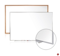Picture of 4' x 10' Dry Erase Magentic Aluminum Trim Whiteboard