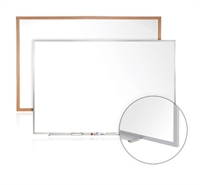 Picture of 4' x 12' Dry Erase Magentic Wood Trim Whiteboard