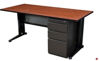 "Picture of Marino 24"" x 66"" Training Table with Filing Pedestal"