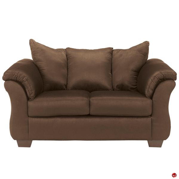 The Office Leader Brato Plush Lounge 2 Seat Loveseat Sofa