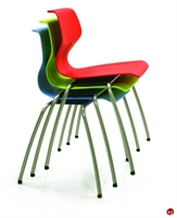 Picture of Vanerum Airley Poly Shell Armless Stack Chair