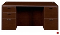 "Picture of 36"" x 72"" Double Pedestal Office Desk Workstation"