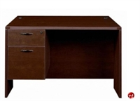 "Picture of 30"" x 48"" Single Pedestal Office Desk Workstation"