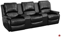 Picture of BRATO Home Theater 3 Seat Reclining Sofa