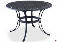 """Picture of Flexsteel Del Rey Outdoor Wrought Iron 42"""" Round Dining Table"""