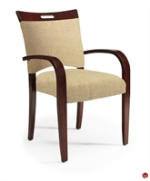Picture of Flexsteel Healthcare Camino Contemporary Guest Side Wood Arm Chair