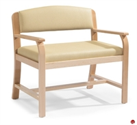 Picture of Flexsteel Healthcare Goshen Reception Lounge Loveseat Bench Seat