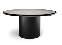 """Picture of Ovation 72"""" Round Conference Table with Drum Base"""