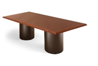 """Picture of Ovation 48"""" x 120"""" Rectangular Conference Table with Drum Base"""