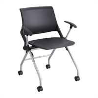 Picture of Training Poly Mobile Nesting Chair with Arms