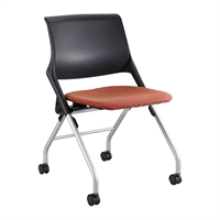 Picture of Training Poly Mobile Nesting Armless Chair
