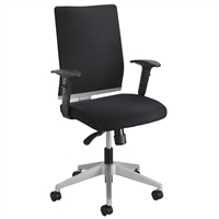 Picture of Contemporary Mesh Mid Back Managerial Office Swivel Chair