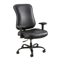 Picture of Big and Tall 400 Lbs High Back Office Task Leather Chair