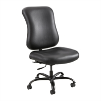 Picture of Big and Tall 400 Lbs High Back Office Task Armless Chair