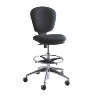 Picture of Office Task Amless Drafting Stool Footring Chair