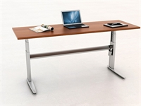 "Picture of PEBLO 24"" x 72"" Height Adjustable Training Desk Table"