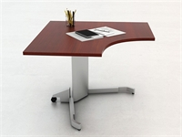 Picture of PEBLO Corner Height Adjustable Table Desk Workstation