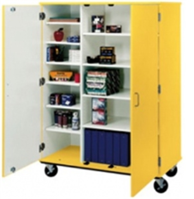 utility cabinets for kitchen the office leader 67 quot h closed mobile storage cabinet 6745
