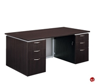 """Picture of 15470 Laminate 72"""" Executive Office Desk Workstation"""
