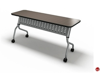 """Picture of 18"""" X 60"""" Mobile Flip Nesting Training Table"""
